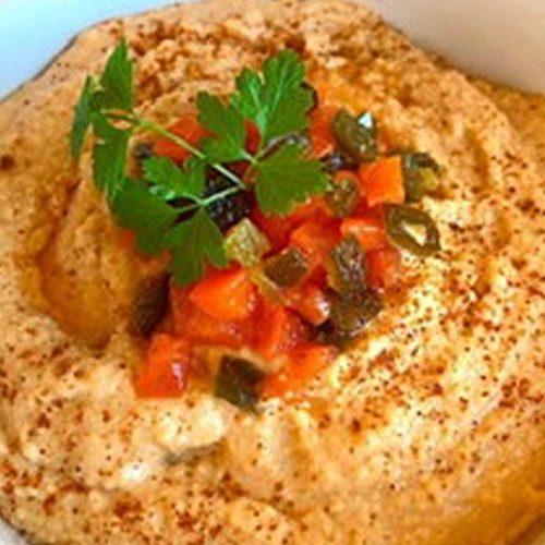 Holiday Hummus (no oil)