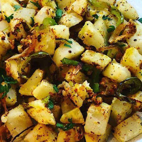 No Oil Home Fried Potatoes
