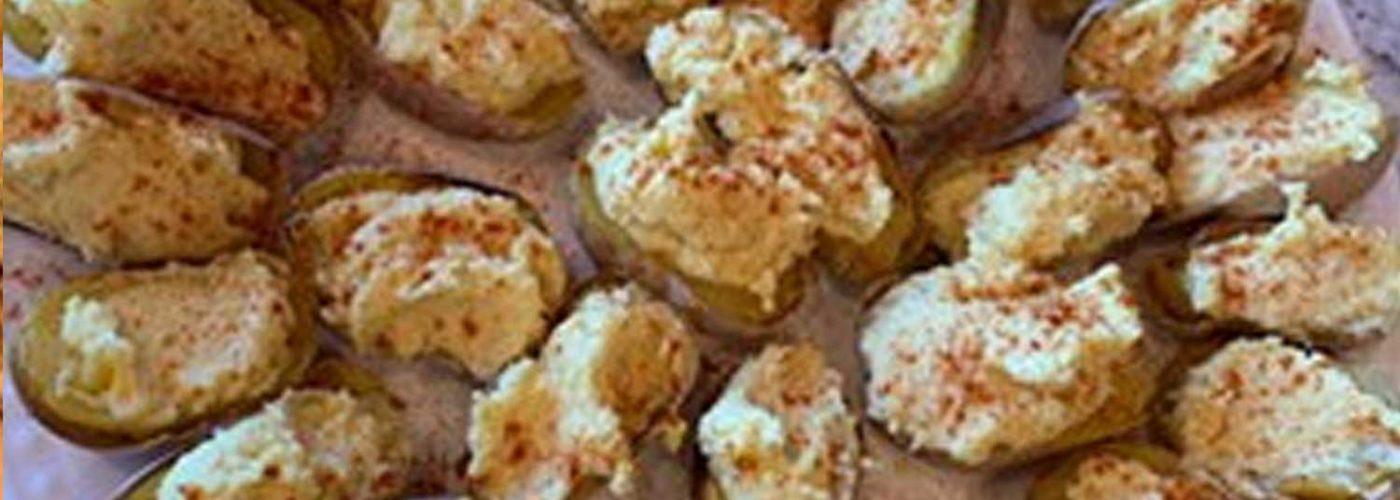 Plant Based Deviled Potatoes (no oil)