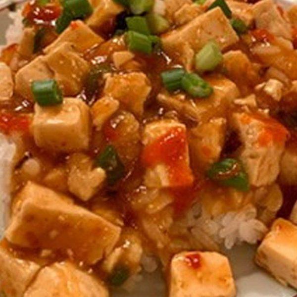 Plant-Based Mapo Tofu