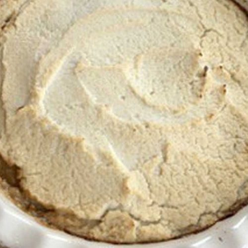 Shepherd's Pie with Cauliflower Topping
